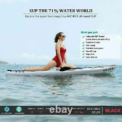 Inflatable Paddle Board Deck Skill Levels Single-layer Surfboard Easy g 01