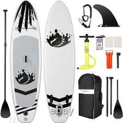 Inflatable Paddle Board Deck Skill Levels Single-layer Surfboard Easy g