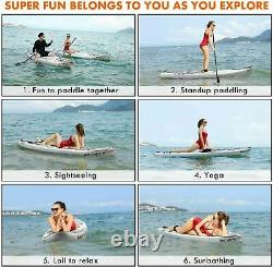Inflatable Paddle Board Deck Skill Levels Single-layer Surfboard Easy g c 01