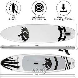 Inflatable Paddle Board Deck Skill Levels Single-layer Surfboard Easy g c