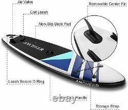 Inflatable Paddle Board Deck Surfboard Skill Levels Adult Paddleboards Nice