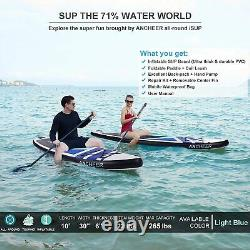 Inflatable Paddle Board Deck Surfboard Skill Levels Adult Paddleboards Portable