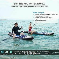 Inflatable Paddle Board Deck Surfboard Skill Levels Adult Paddleboards Unisex