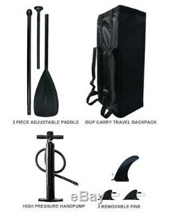 Inflatable SUP Board ISUP 10'30''4''withAdjustable Paddle, Backpack, leash, pump