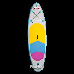 Inflatable Stand Up Paddle Board, 120 Long Ocean Beach Surfing Fun