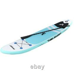 Inflatable Stand Up Paddle Board 6 Inches with One-Way Sup Dedicated Pump Backpack