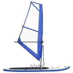 Inflatable Stand Up Paddleboard Paddle Board SUP Surfboard with Sail Pump Set