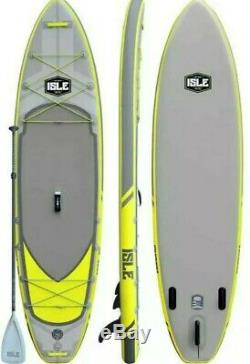Isle Surf and Sup 11' Inflatable explorer Stand up Paddle Board package