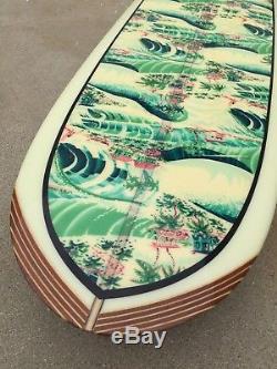 JOHN SEVERSON FABRIC x YATER SPOON SURFBOARD