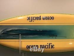 Jack Meyer OP Promotional Surfboard Vintage