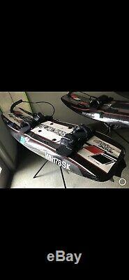 Jetsurf Motorized Surfboard Race Model Black Carbon Fiber GP100
