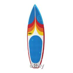 Jimmy Styks Stand Up Surfer AirSurf6 Inflatable Blow Up Surfboard & Accessories