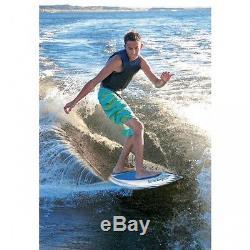 Kwik Tek Airhead WAKESURFER BANZAI Wake Surf Board AHWS-F01