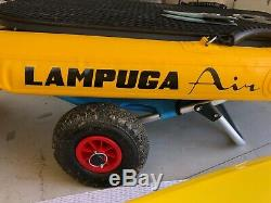 Lampuga an electric, inflatable Surf Board