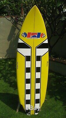Larry Bertlemann surfboard, 5-fin, High Flyer 5'-10