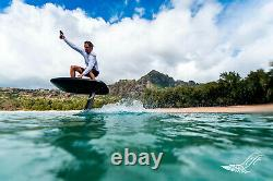 Lift Foils eFoil Electric Hydrofoil Flying Surfboard 5'0 White with 170 Wing