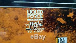 Liquid Force Foil Fish with bag 5'3 x20'3 Surfing Kitesurfing Kiteboarding