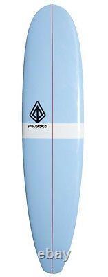 Longboard surfboard 78 epoxy, 3 fin setup, beginner to intermediate surfers