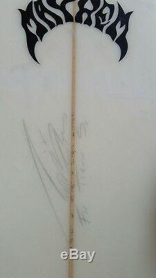 Mayhem 5'10 Surfboard Twinzer/Quad Signed by Matt Mayhem Biolas AND DAKINE BAG