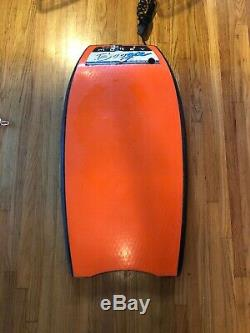 Mike Stewart Morey Mach 7-7 Bodyboard Boogieboard Black/orange 42.5 Collectible