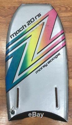 Morey Mach 20 RS Boogie Board Bodyboard 20RS Vintage Body Board Pink Gray