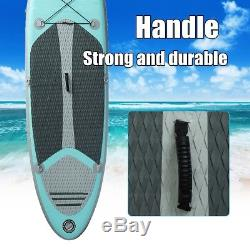 NEW Inflatable Stand Up Surfing Paddle Board SUP Adjustable Paddle Backpack Sets