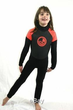 NEW Kids 3mm full wetsuit all watersports / beach use (sizes for 1 to 8 years)
