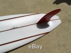 NEW Mike Hynson Custom 9'4 Red Fin Surfboard