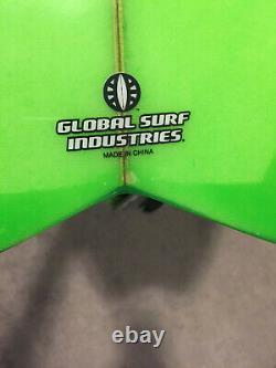 NEW Modern Surfboards green BLACKFISH 6' 4 with board bag + more PICK UP ONLY