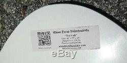 NEW Wave Zone Classic Fish 48 Fiberglass Skimboard Yellow