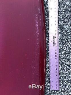 NEW Wave Zone Fly 52 Fiberglass Skimboard Deep Red