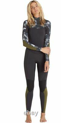 NWT 260$ Billabong SURF CAPSULE SALTY DAYZ 5/4 CHEST ZIP WETSUIT SIZE 10