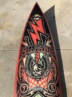 New 63 Rock And Roll Collectors Art Board X Billabong Surfing Surfboard
