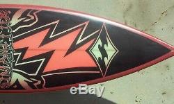 New Billabong Tri Fin Surfboard 6'2 Collectors Graphix Ride It Display It