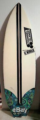 New KELLY SLATER Signed 36/75 Channel Islands Merrick Black Flag Whip Surfboard