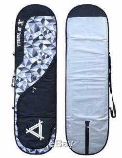 New Triple X Heavy Duty 9'2 Longboard Surfboard Bag/Pixel