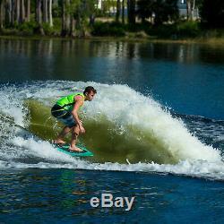 OBrien Space Dust Lake Ocean Beginner Wakesurf Board for Skim Style Surfing