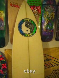 OLD SCHOOL Vintage surfboard Town and Country big wave gun -repaired-SEE PHOTOS