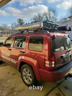 Offroad Pressurized Solar Shower Tube 4 Gal Portable Shower, Roof Top Tent Rack