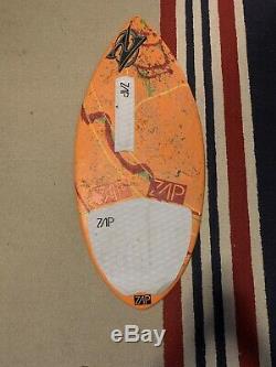 Orange Zap Wedge Skimboard 45