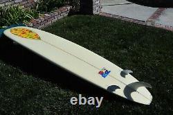 Paul Frank / Robert August Surfboard Longboard 9.0' New. Very Rare