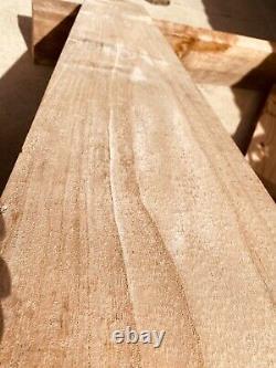 Paulownia Surfboard Core Raw Wood Lumber 4/4 x 4-8x 24-48 US grown 15 BF