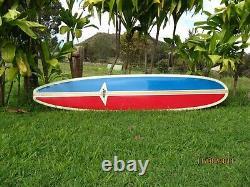Phil Edwards Custom Hand Shaped 9' Hobie Surfboard