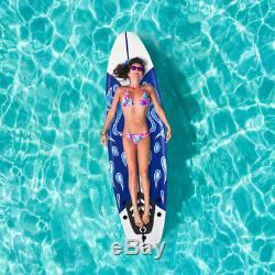 Premium 6' Surfboard Foamie Boards Surfing Body Boarding Beach Outdoor White