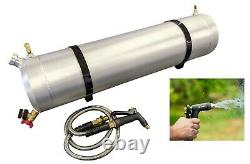 Pressurized Solar Shower Tube 10 Gal Camping Shower, Roof Top Tent, Roof Rack