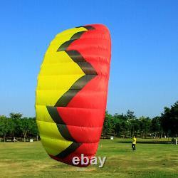 Quad Line Traction Kite Surfing 5 Stunt Trainer Kite Parafoil Parachute Sports