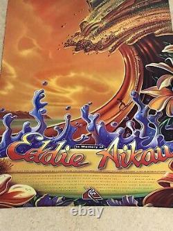 Quiksilver Eddie Aikau Would Go 1995-1996 Waimea Bay Hawaii Rare & Oop Poster