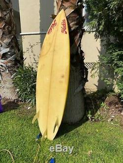 RARE Vintage 80s Hobie Surfboard 6ft