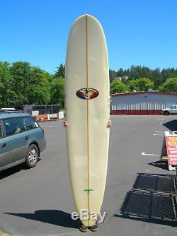 RARE vintage Josh Baxter model surfboard 1995 longboard Donald Takayama surfer