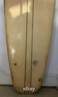 Rare 1960's Hobie 12FT Tandem Longboard Surfboard